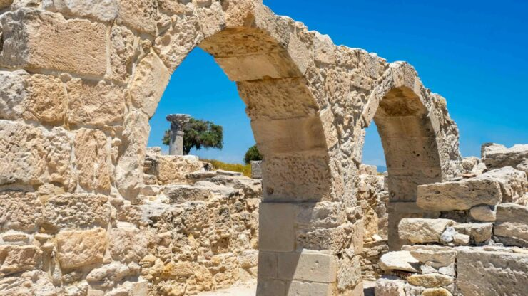 Cyprus Pafos archeologie