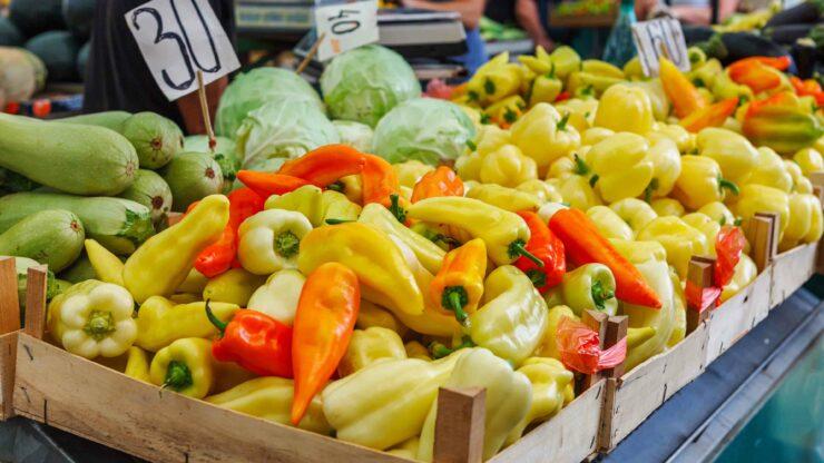 Chalkidiki markt