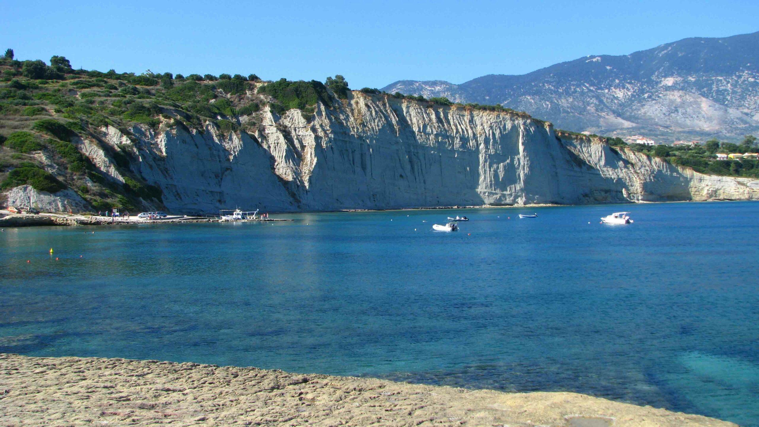Kefalonia Spartia strand