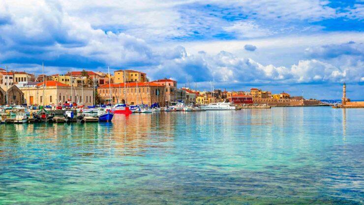 Kreta Chania Haven