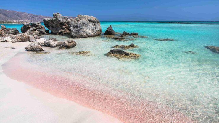 Kreta strand Elafonisi