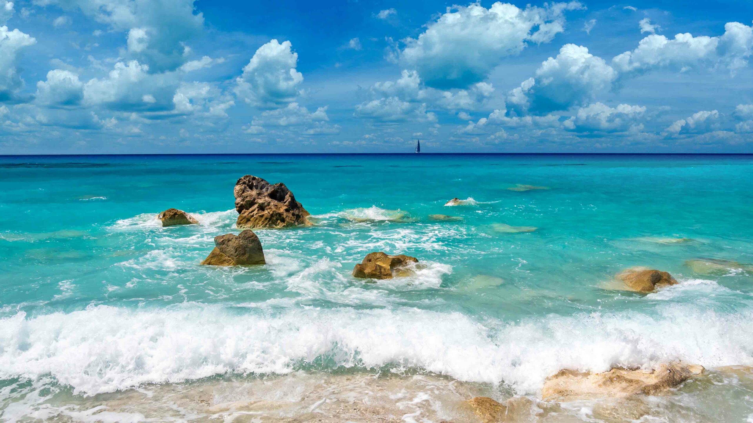 Lefkas strand