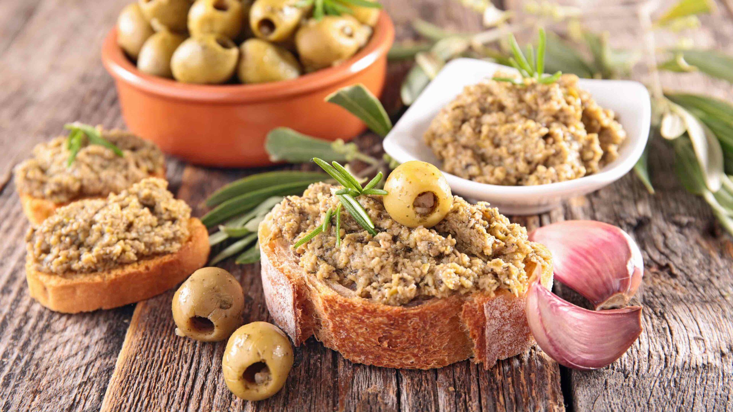 Recept olijven tapenade