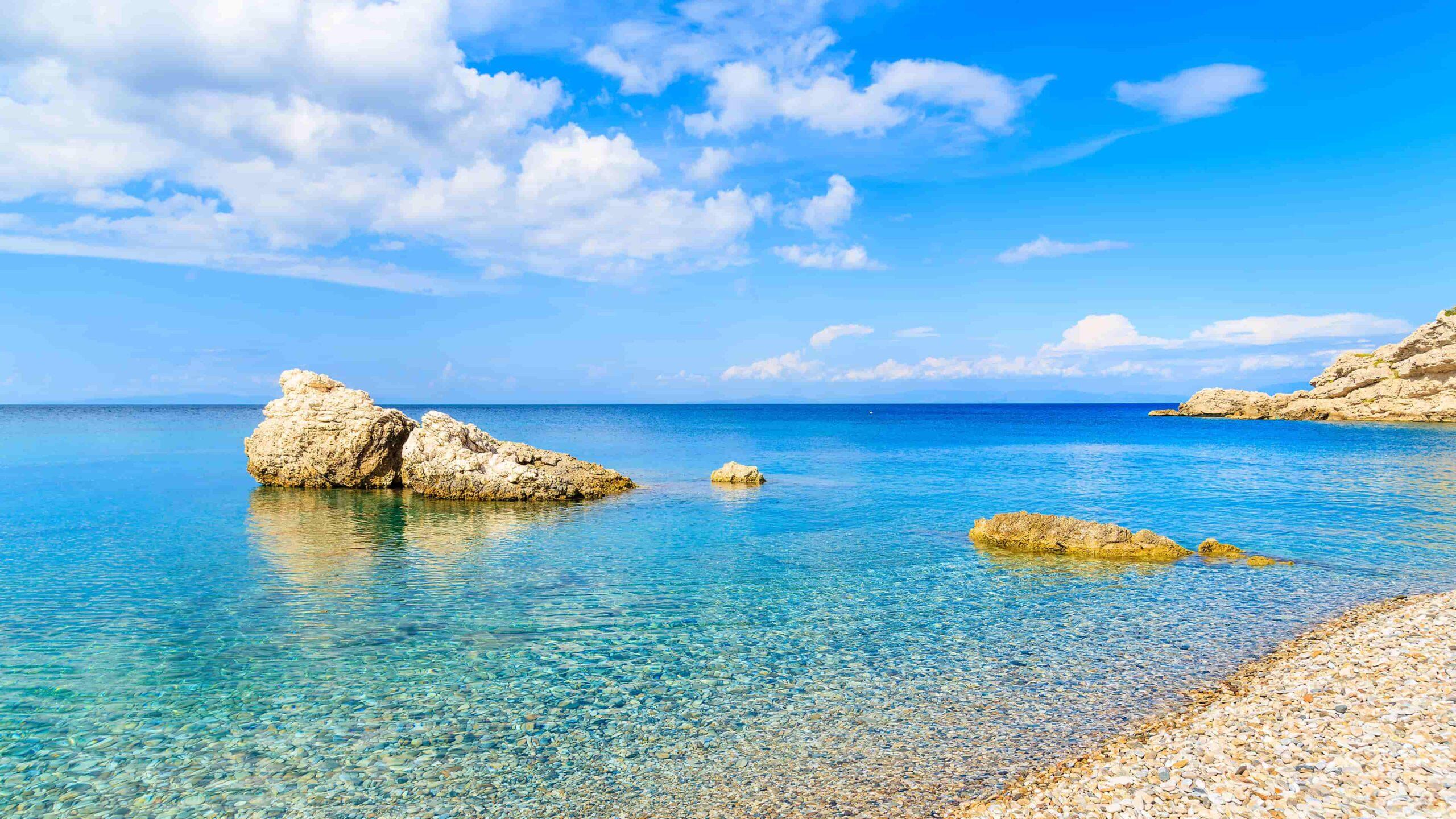 Samos strand Kokkari