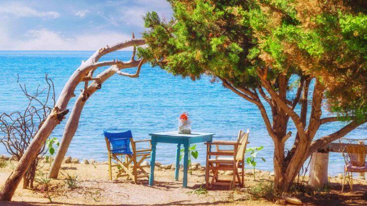 Zakynthos Dafni strand