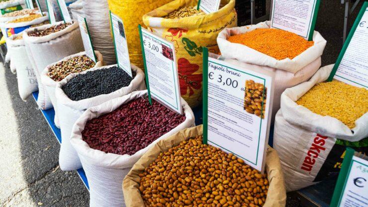 Italie markt Puglia