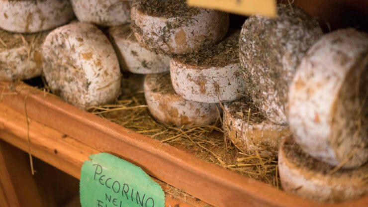 Italie markt kaas