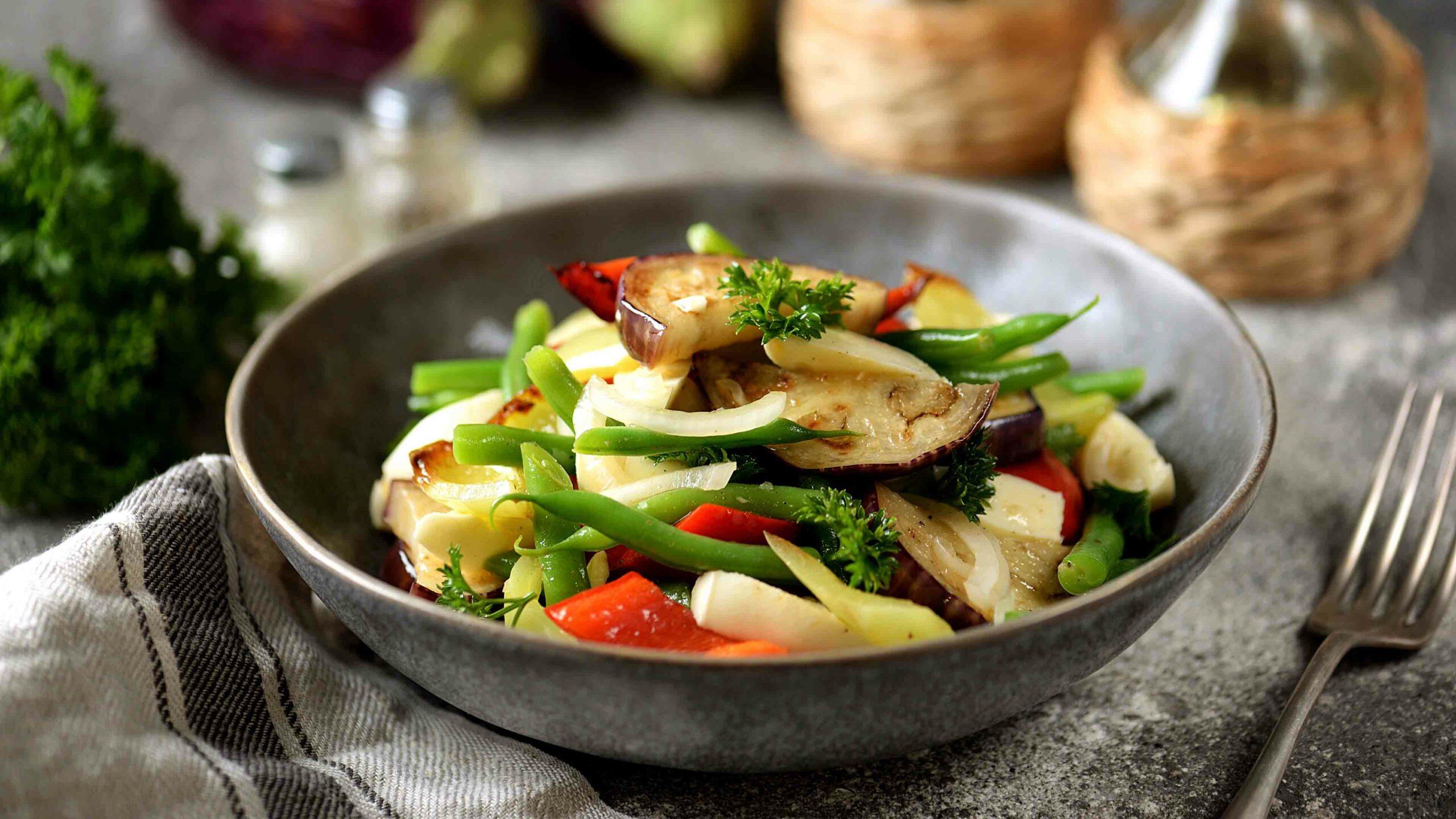 Borlotti salade