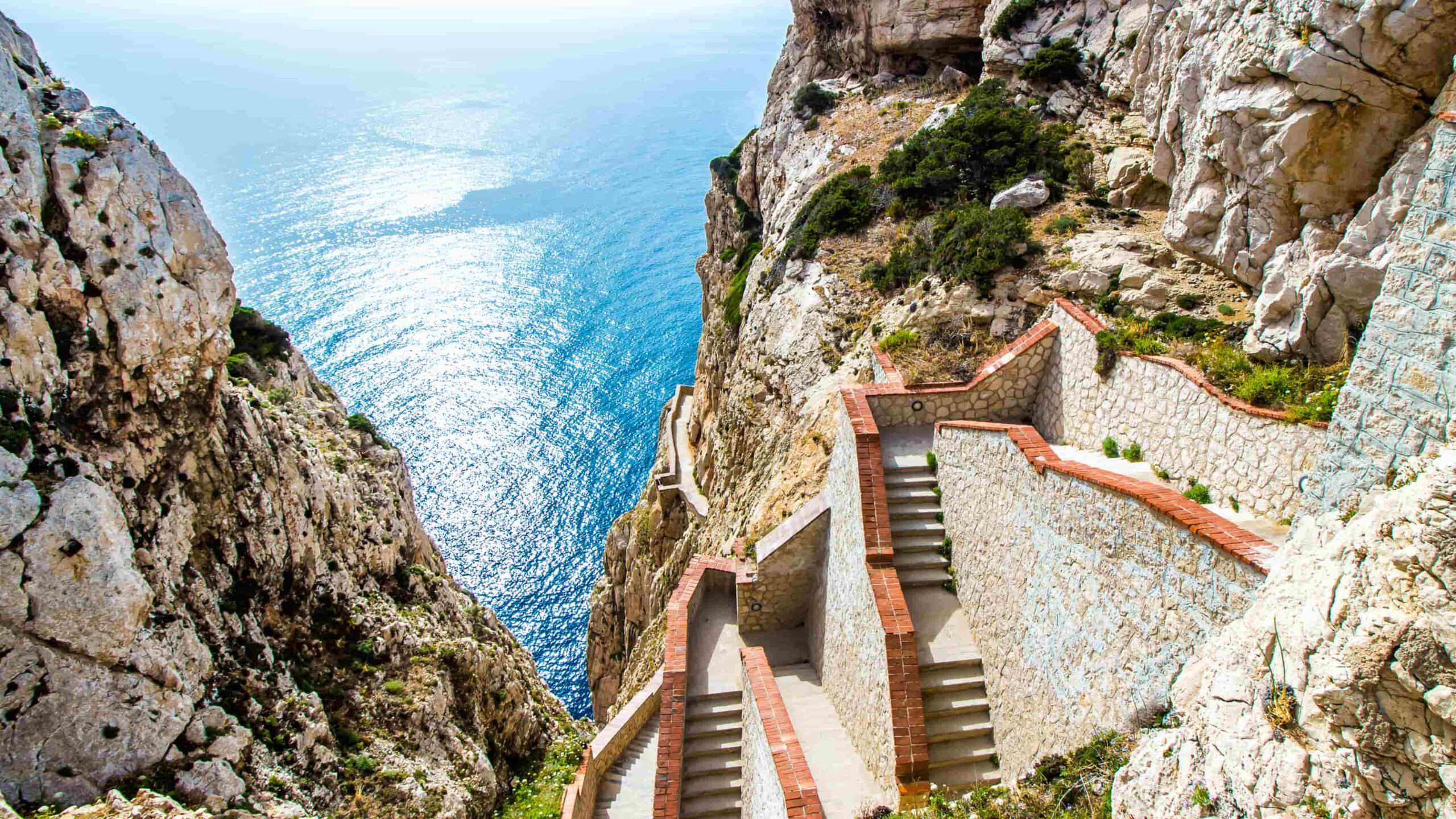 Sardinie grotten