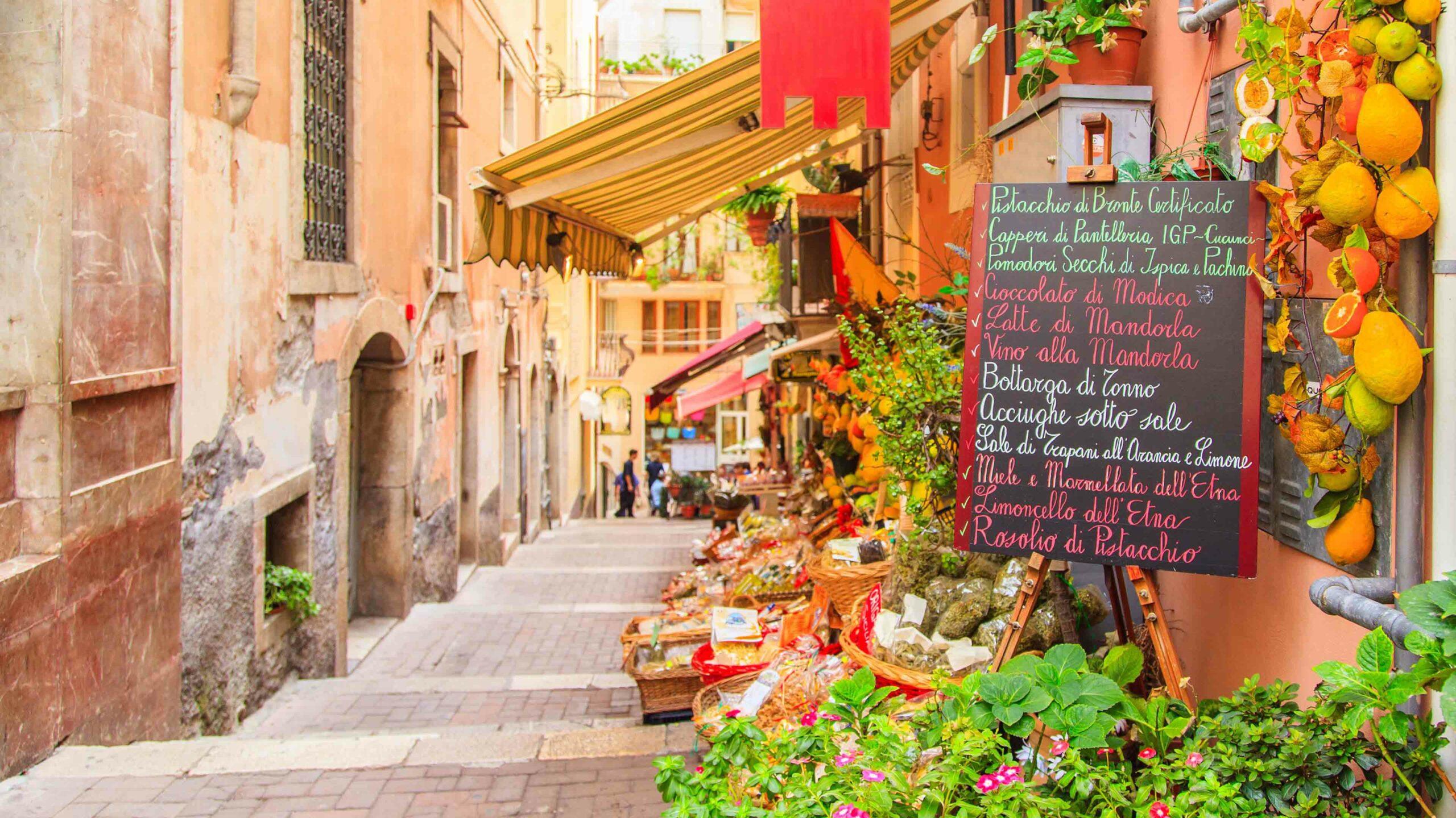 Sicilie markt