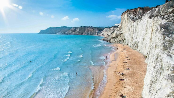 Sicilie strand Turchi