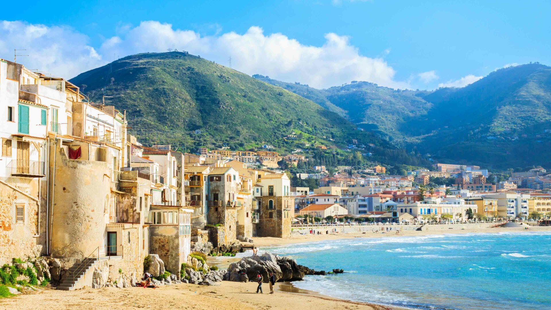 Sicilie strand