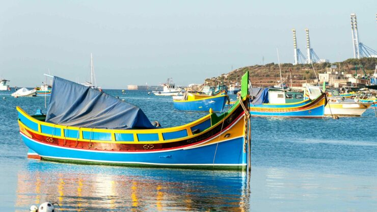 Gozo vissersboot