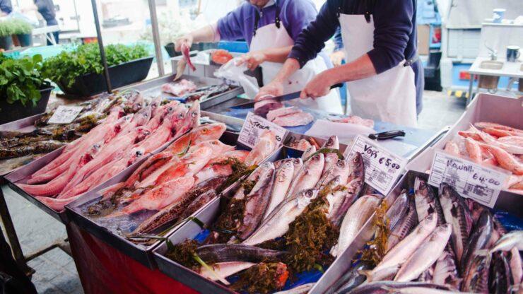 Malta Markt Marsaxlokk