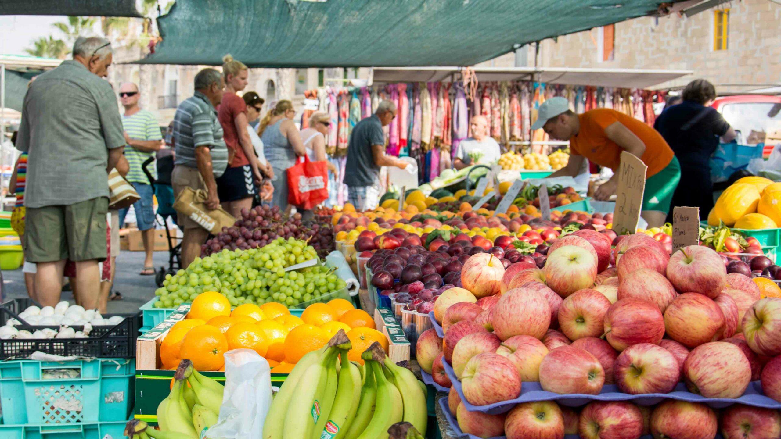 Malta markt Valletta