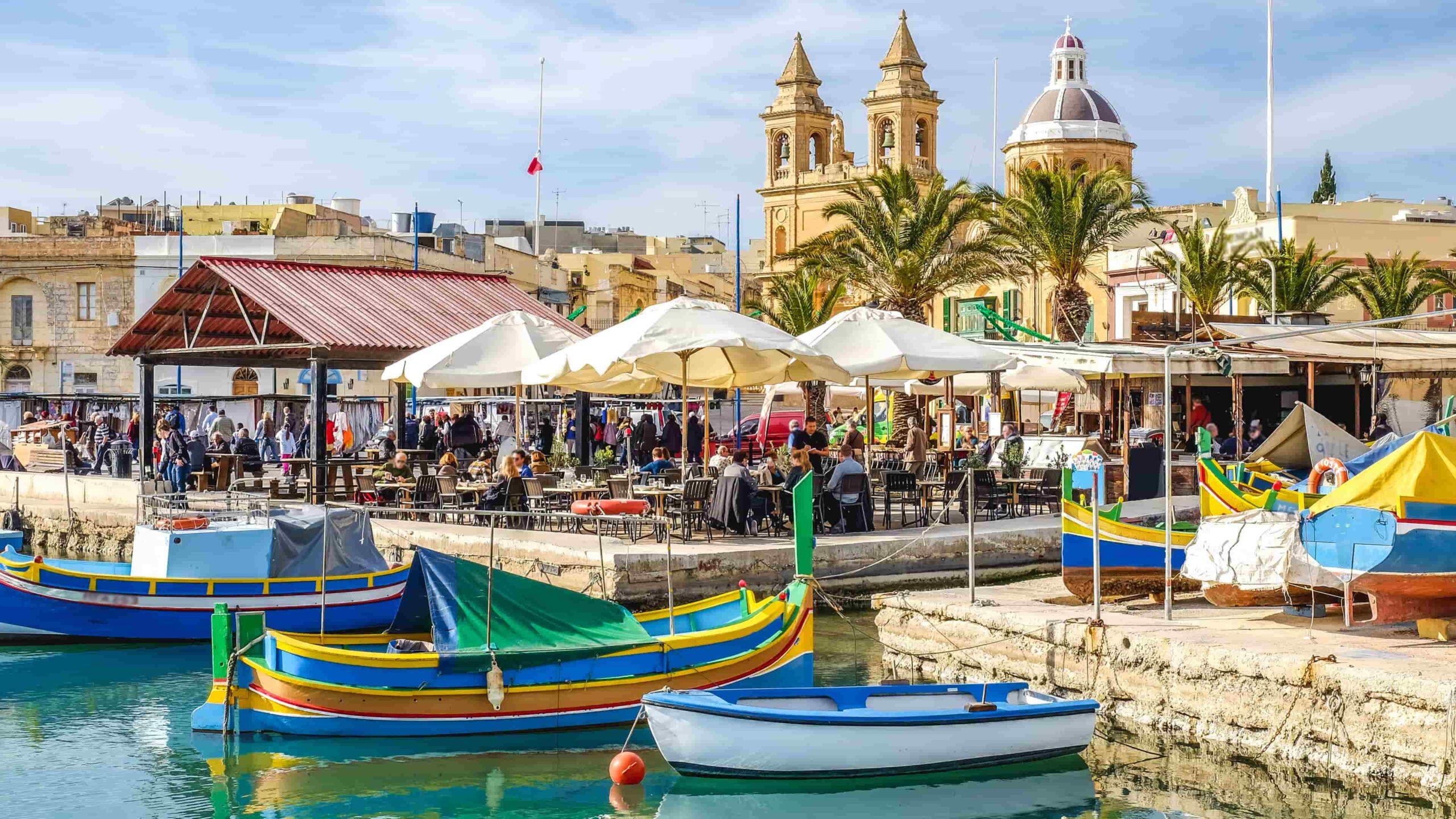 Malta restaurant Marsaxlokk