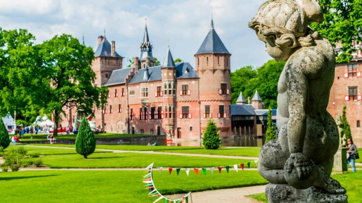 Nederland wandelen Haarzuilens