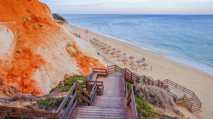 Algarve strand Falesia