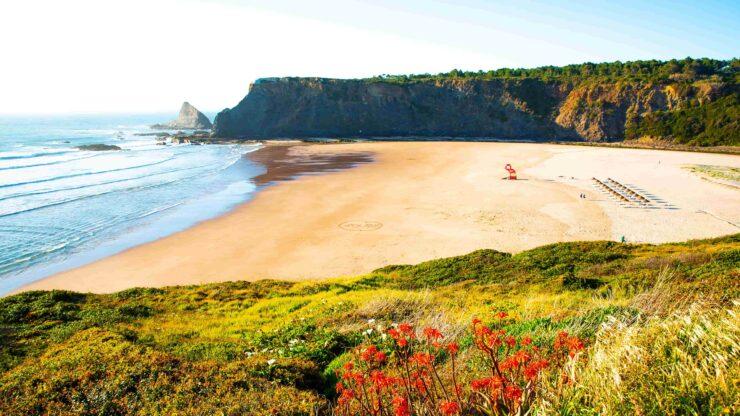 Algarve strand Odeceixe