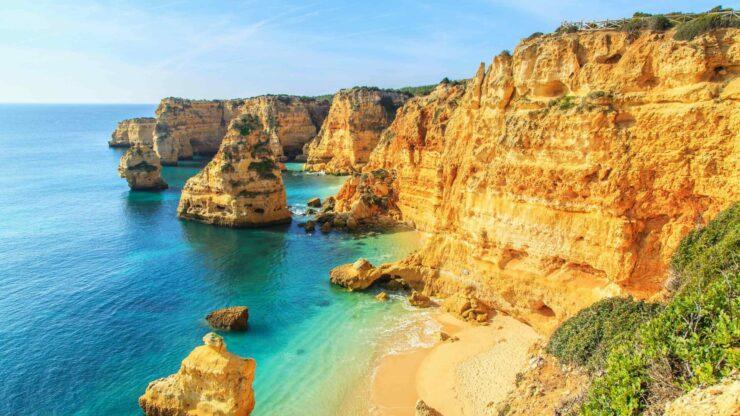 Algarve strand Praia da Marinha