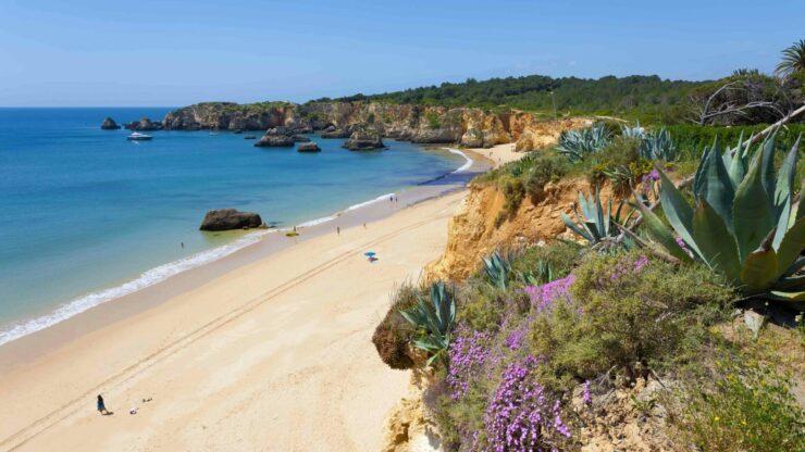 Algarve strand Praia do Vau