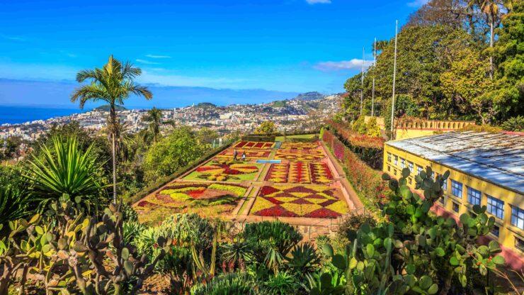 Madeira Funchal bloemeneiland