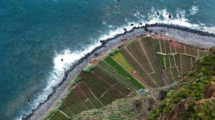 Madeira strand Faja Do Rancho