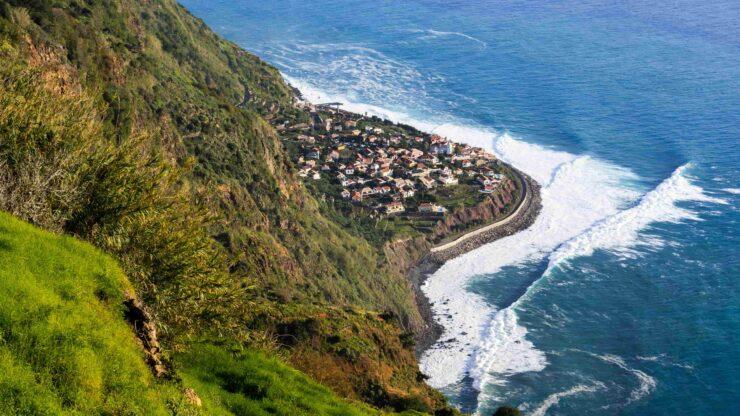 Madeira strand Jardim do Mar