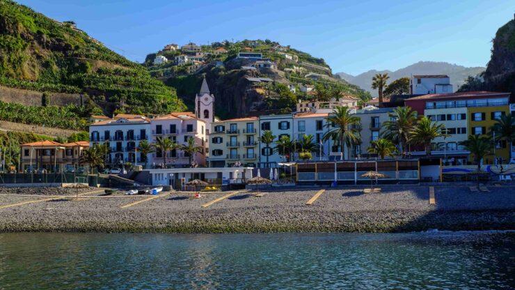 Madeira strand Ponta do Sol