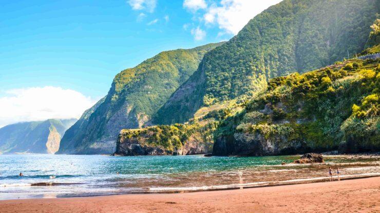 Madeira strand Seixal