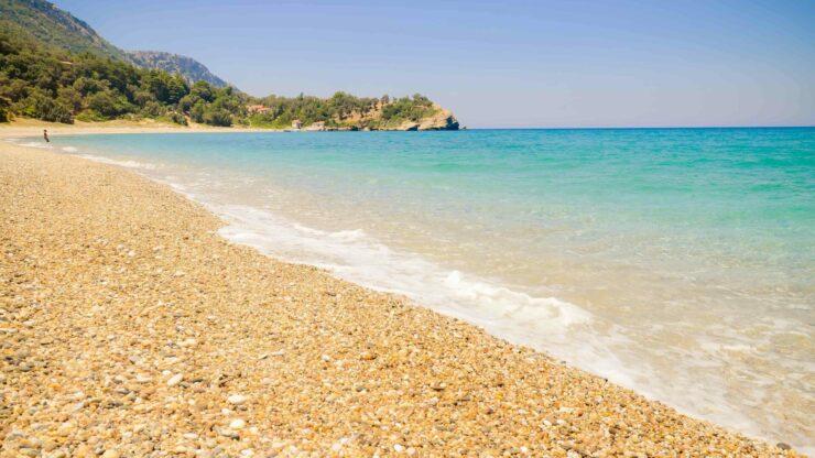 Samos strand Seitani