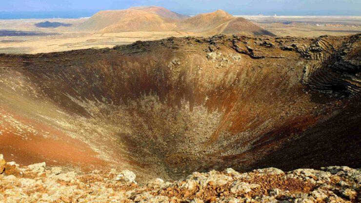 Fuerteventura Calderon Hondo vulkaan