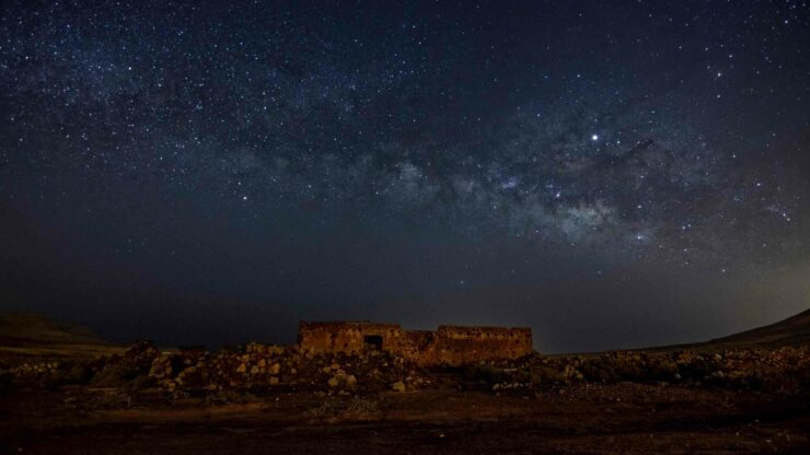 Fuerteventura sterrenhemel