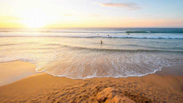 Fuerteventura strand El Cotillo