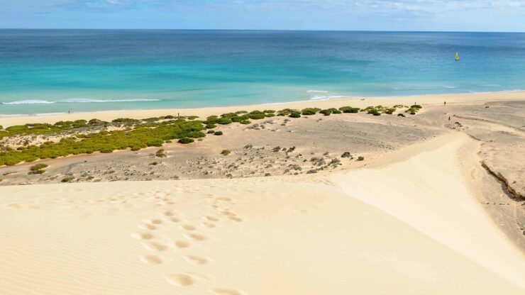 Fuerteventura strand Sotavento