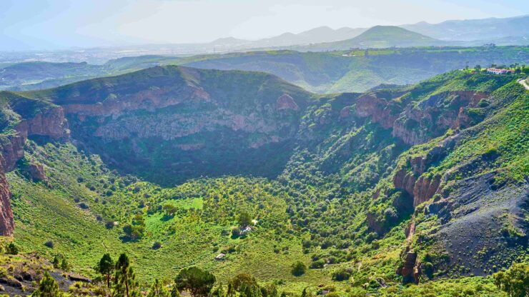 Gran Canaria Pico de Bandama