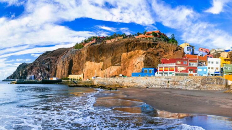 Gran Canaria strand Sardina del Norte