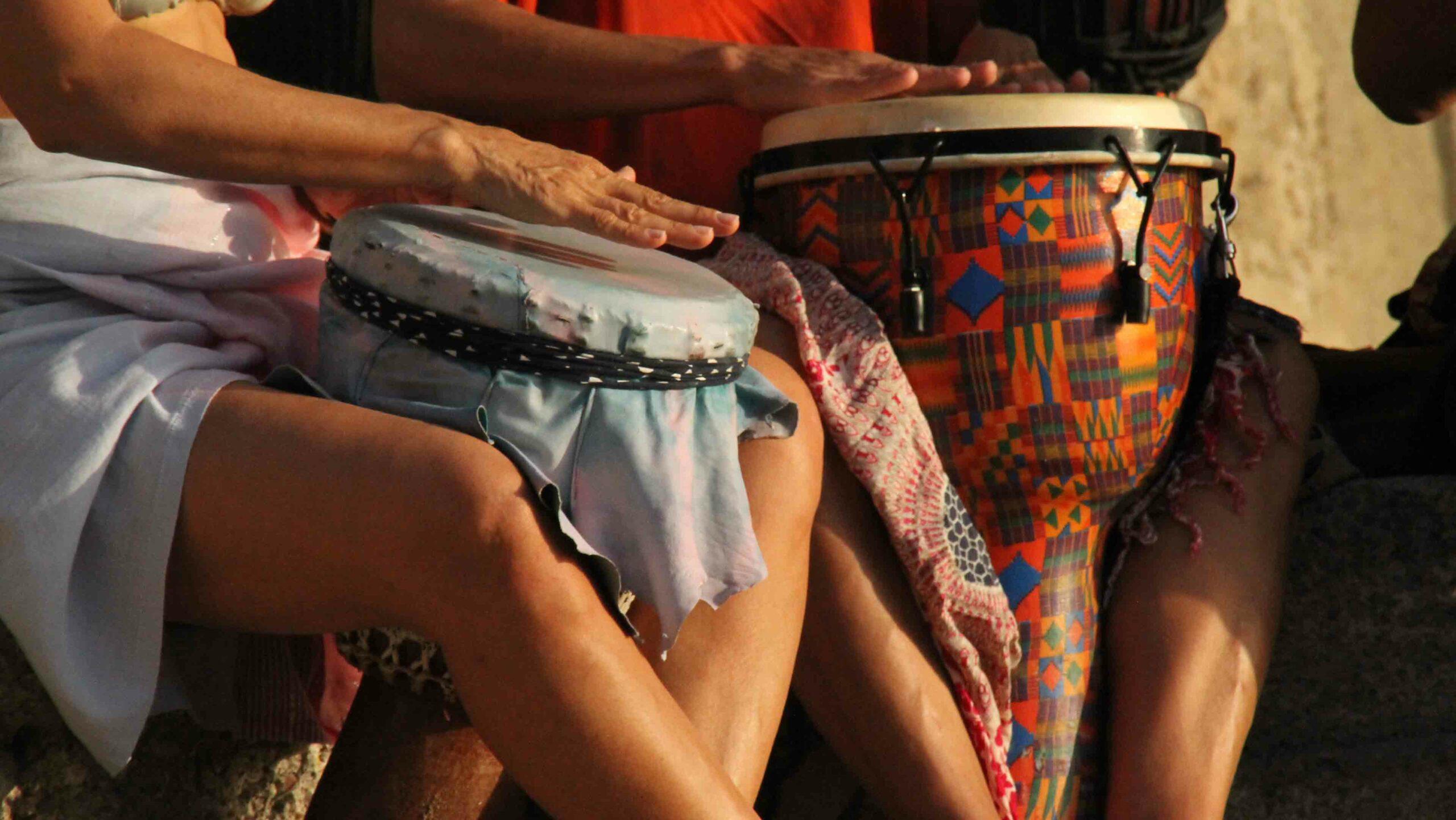 Ibiza strand Benirras Beach Drums