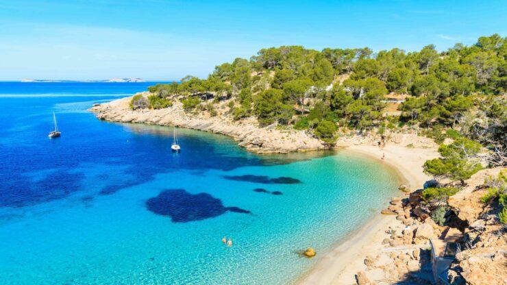 Ibiza strand Cala Salada