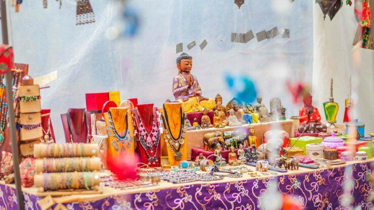 Ibiza hippiemarkt
