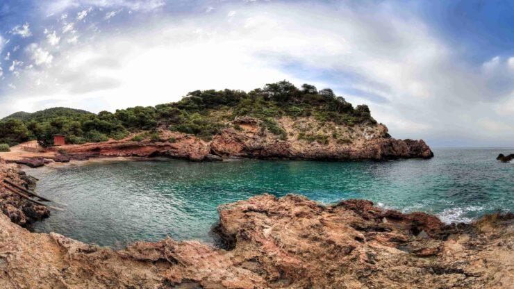 Ibiza strand Cala Olivera