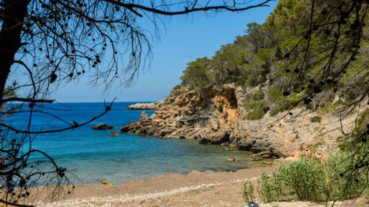 Ibiza strand Cala Xuclar