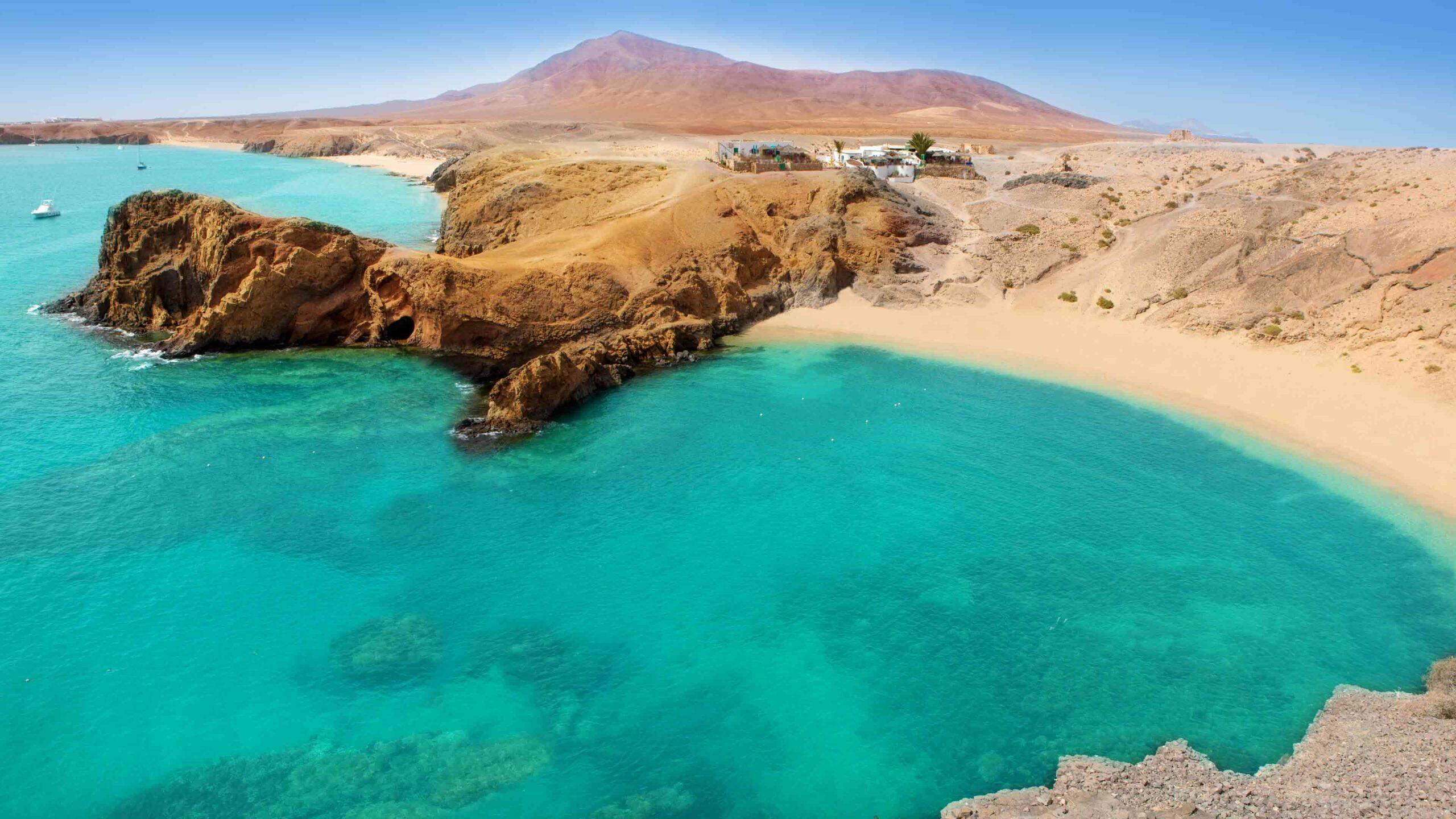 Lanzarote strand Papagayo