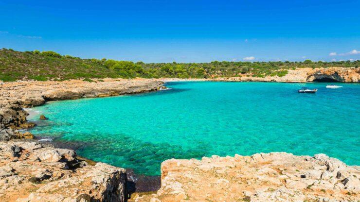 Mallorca strand Cala Varques