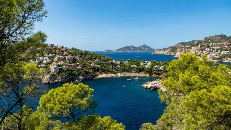 Mallorca strand Cala Llamp