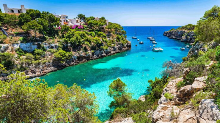 Mallorca strand Cala Pi
