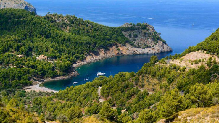 Mallorca strand Cala Tuent
