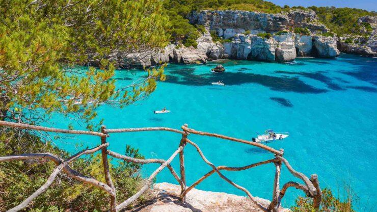 Menorca strand Cala Marcarellta