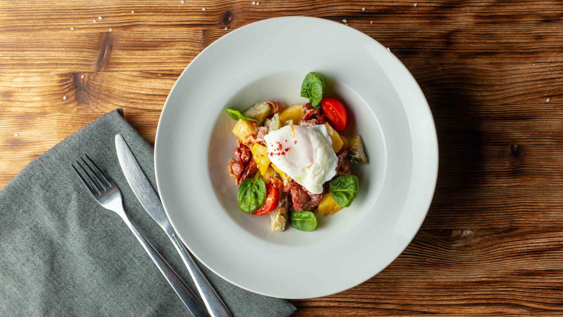 Chorizo salade recept