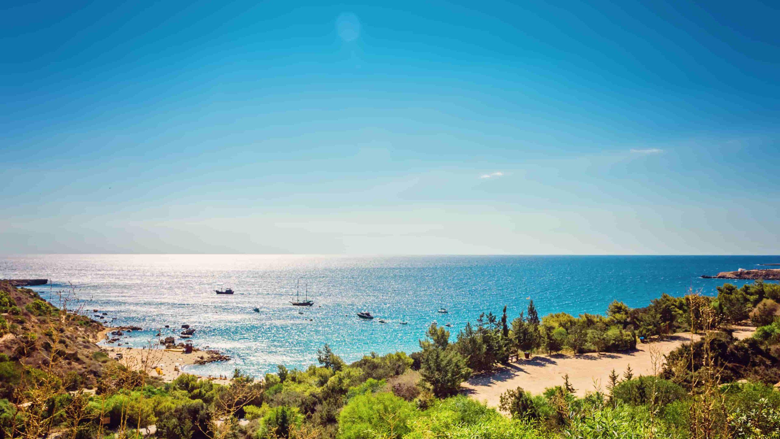 Cyprus Konnos Bay
